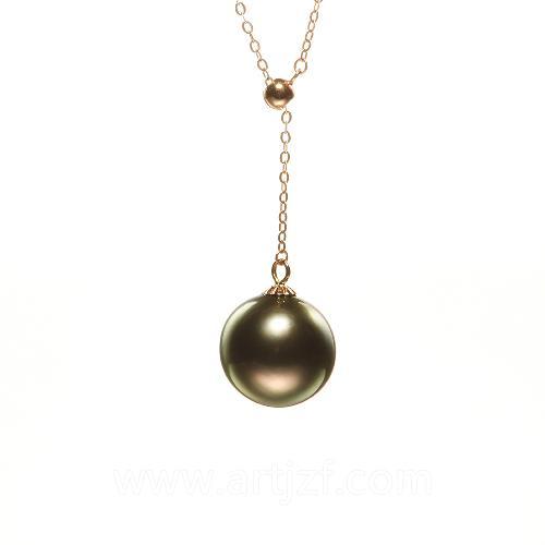 B210035 黑珍珠调节链