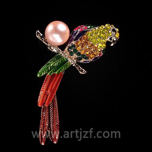 B210050 珍珠胸针
