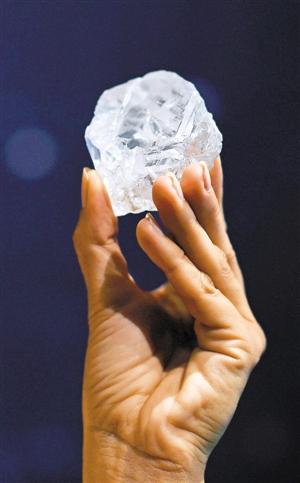 百年来最大钻石或卖出4.6亿元