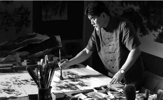 郑浩千:笔墨应随时代,这是一条永恒的艺术法则