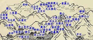 寿山石矿床分布